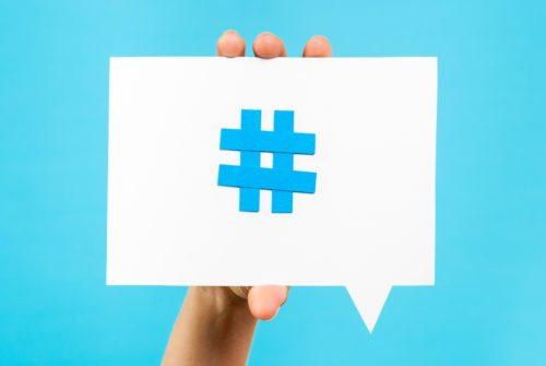 event hashtag